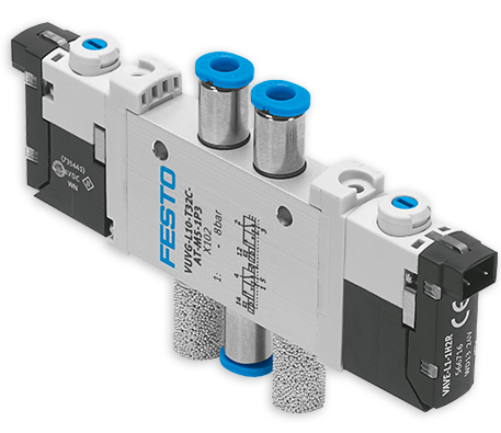 Festo Pneumatics & Electrical Automation | Versatile Controls