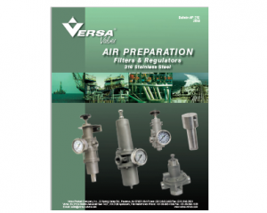 New Air Prep Catalogue from Versa