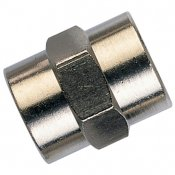 Nickel Plated Brass Female Socket - Equal