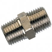 Nickel Plated Brass Male Adaptors - Equal